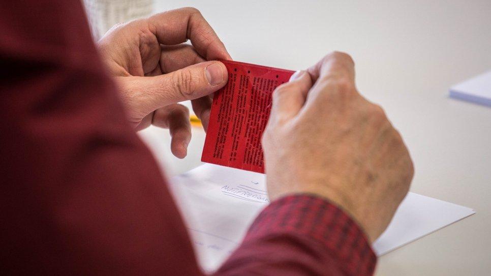 Cita previa tarjeta roja